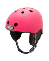 Nutcase Snow Helmet Party Pink L-XL (58-61cm)