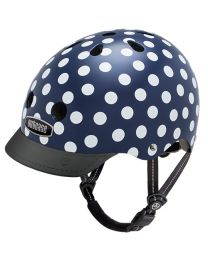 Nutcase Street Navy Dots Large