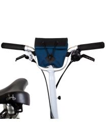 BROMPTON M & H BAR BAG - NAVY