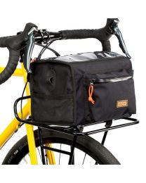 Commuter Front Rack - Black - Large