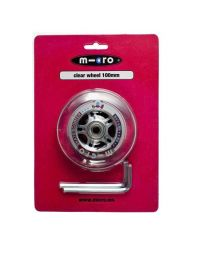 Micro Wheel clear 100mm