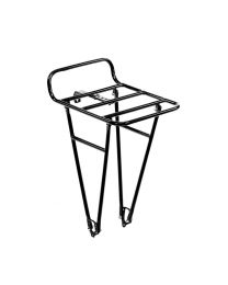 Commuter Front Rack - Black - Medium