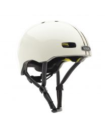 Street Leather Bound Stripe Gloss MIPS Helmet M