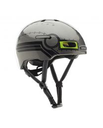 Little Nutty Robo Boy Gloss MIPS Helmet S