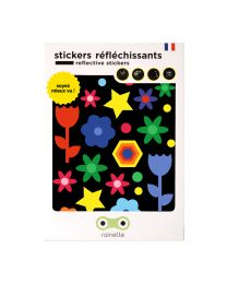 Rainette Reflective Stickers - COLORS