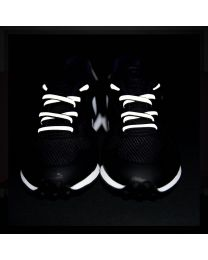Rainette reflective shoe laces - Black