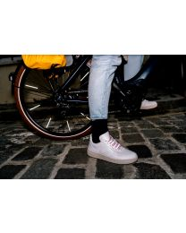 Rainette reflective shoe laces - Fluo pink