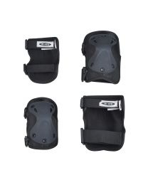 Micro Knee-/ Elbow Pad L Black - set new