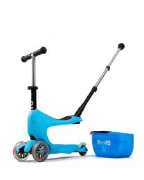 Micro Mini 2Go Deluxe Plus Blauw