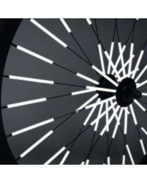 Rainette wheel spoke reflectors - Fluo
