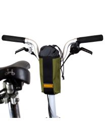 CITY BIKE STEM BAG - OLIVE