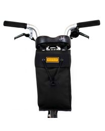 CITY BIKE SADDLE BAG LARGE - BLACK