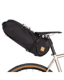 SADDLE BAG - Large 14 litre  - Blck/Blck