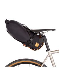 SADDLE BAG - Small 8 litre - Orange/Blck