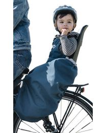 Rainette childseat apron w/ fleece - Blue