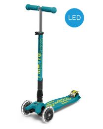 Maxi Micro Deluxe Petrol Green Foldable LED